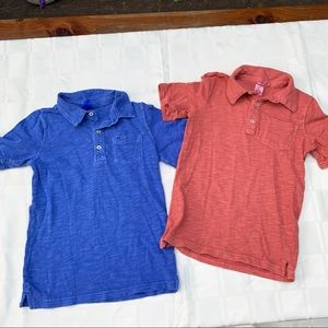 Boys 6 Carter's Polo Shirt Bundle